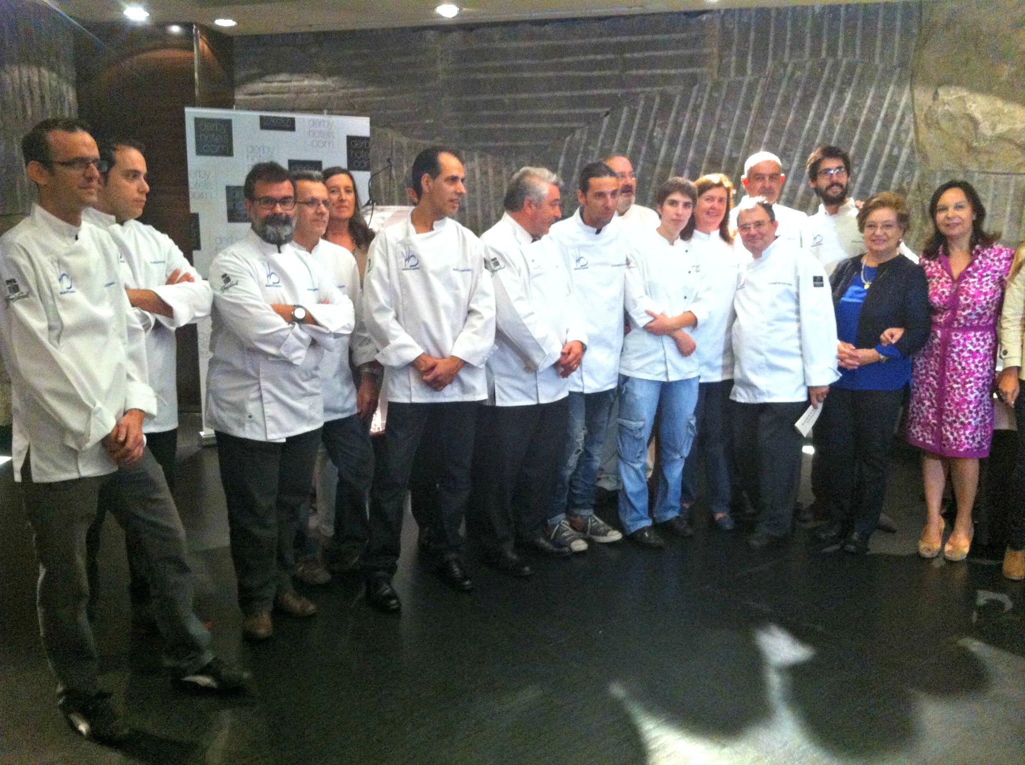 Muchos de los chefs de Madrid Exquisito