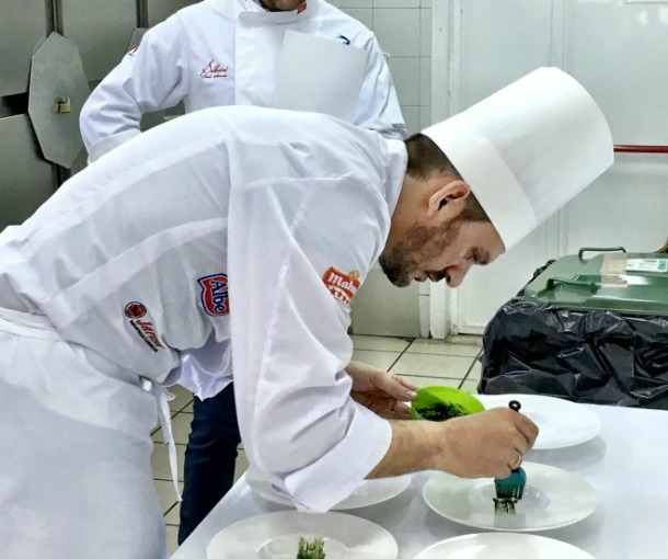 Final de la liga de cocina euroanchoas en madrid - Chef plus planeta ...