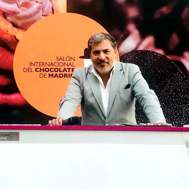 alberto granados en salon del chocolate