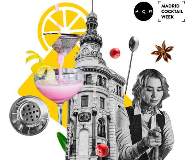 "Madrid celebra una nueva cita de ""Madrid Cocktail Week""..."